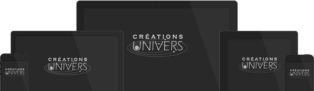 Créations Univers - Conception Site Web Adaptatif Granby